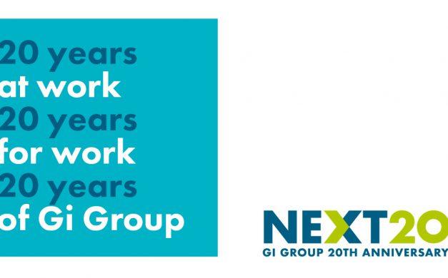 Gi Group celebra o 20º aniversário!